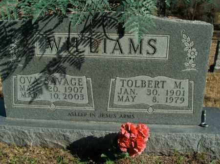 WILLIAMS, TOLBERT MARION - Boone County, Arkansas | TOLBERT MARION WILLIAMS - Arkansas Gravestone Photos