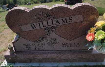 WILLIAMS, PAUL D - Boone County, Arkansas | PAUL D WILLIAMS - Arkansas Gravestone Photos