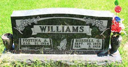 WILLIAMS, RUSSELL GENE - Boone County, Arkansas   RUSSELL GENE WILLIAMS - Arkansas Gravestone Photos