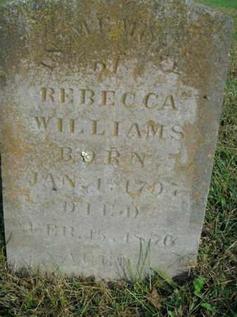 WILLIAMS, REBECCA - Boone County, Arkansas | REBECCA WILLIAMS - Arkansas Gravestone Photos