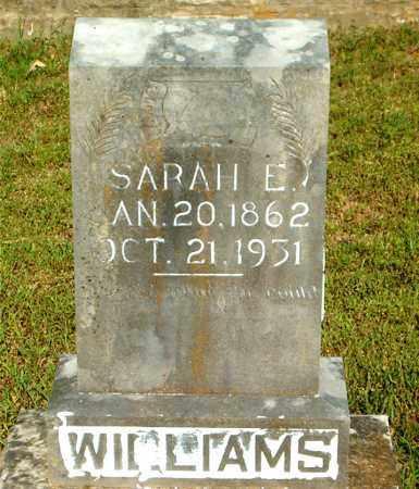 WILLIAMS, SARAH  E. - Boone County, Arkansas | SARAH  E. WILLIAMS - Arkansas Gravestone Photos
