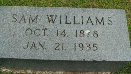 WILLIAMS, SAM (JUDGE) - Boone County, Arkansas | SAM (JUDGE) WILLIAMS - Arkansas Gravestone Photos