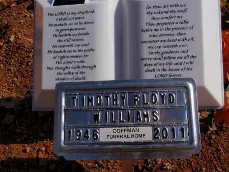 WILLIAMS, TIMOTHY FLOYD - Boone County, Arkansas | TIMOTHY FLOYD WILLIAMS - Arkansas Gravestone Photos