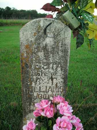 WILLIAMS, VESTA - Boone County, Arkansas | VESTA WILLIAMS - Arkansas Gravestone Photos