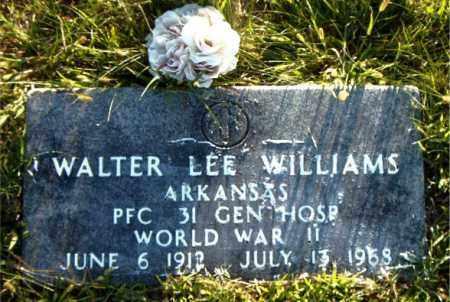 WILLIAMS  (VETERAN WWII), WALTER LEE - Boone County, Arkansas   WALTER LEE WILLIAMS  (VETERAN WWII) - Arkansas Gravestone Photos