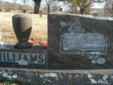 WILLIAMS, WILLIAM RANDOLPH - Boone County, Arkansas | WILLIAM RANDOLPH WILLIAMS - Arkansas Gravestone Photos