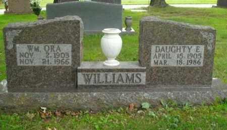 WILLIAMS, WM. ORA - Boone County, Arkansas   WM. ORA WILLIAMS - Arkansas Gravestone Photos