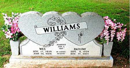 WILLIAMS, PAULINE - Boone County, Arkansas   PAULINE WILLIAMS - Arkansas Gravestone Photos
