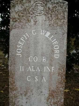 WILLIFORD  (VETERAN CSA), JOSEPH GEORGE - Boone County, Arkansas | JOSEPH GEORGE WILLIFORD  (VETERAN CSA) - Arkansas Gravestone Photos