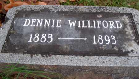 "WILLIFORD, LEON DINSMORE ""DENNIE"" - Boone County, Arkansas   LEON DINSMORE ""DENNIE"" WILLIFORD - Arkansas Gravestone Photos"