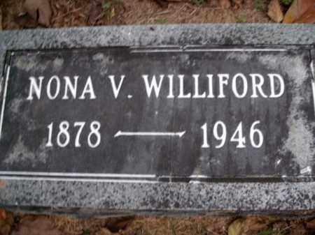WILLIFORD, NONA VIVIAN - Boone County, Arkansas | NONA VIVIAN WILLIFORD - Arkansas Gravestone Photos