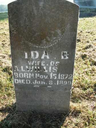 WILLIS, IDA B. - Boone County, Arkansas | IDA B. WILLIS - Arkansas Gravestone Photos