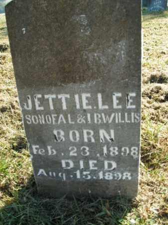 WILLIS, JETTIE LEE - Boone County, Arkansas | JETTIE LEE WILLIS - Arkansas Gravestone Photos