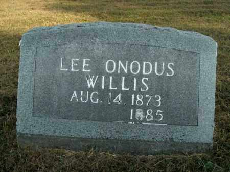 WILLIS, LEE ONODUS - Boone County, Arkansas | LEE ONODUS WILLIS - Arkansas Gravestone Photos