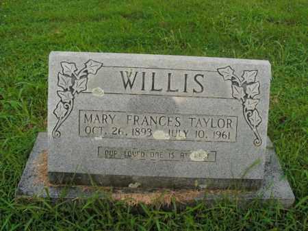 WILLIS, MARY FRANCES - Boone County, Arkansas | MARY FRANCES WILLIS - Arkansas Gravestone Photos