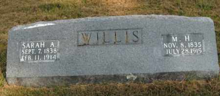 WILLIS, SARAH ANN - Boone County, Arkansas | SARAH ANN WILLIS - Arkansas Gravestone Photos