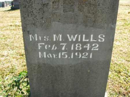 WILLS, M(ALISSA ANN) - Boone County, Arkansas | M(ALISSA ANN) WILLS - Arkansas Gravestone Photos
