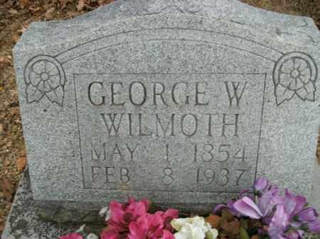 WILMOTH, GEORGE WASHINGTON - Boone County, Arkansas   GEORGE WASHINGTON WILMOTH - Arkansas Gravestone Photos