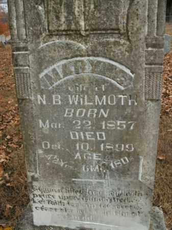 WILMOTH, MARY S. - Boone County, Arkansas | MARY S. WILMOTH - Arkansas Gravestone Photos