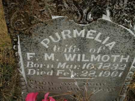 WILMOTH, PURMELIA - Boone County, Arkansas | PURMELIA WILMOTH - Arkansas Gravestone Photos