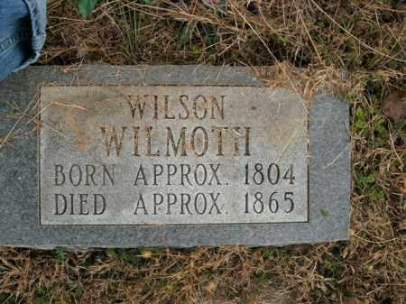 WILMOTH, WILSON - Boone County, Arkansas | WILSON WILMOTH - Arkansas Gravestone Photos