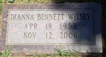 BENNETT WILSEY, DIANNA - Boone County, Arkansas | DIANNA BENNETT WILSEY - Arkansas Gravestone Photos