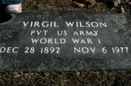WILSON  (VETERAN WWI), VIRGIL - Boone County, Arkansas   VIRGIL WILSON  (VETERAN WWI) - Arkansas Gravestone Photos
