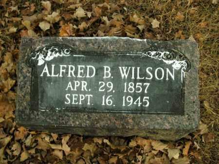 WILSON, ALFRED B. - Boone County, Arkansas | ALFRED B. WILSON - Arkansas Gravestone Photos