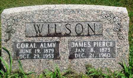 WILSON, JAMES PIERCE - Boone County, Arkansas | JAMES PIERCE WILSON - Arkansas Gravestone Photos