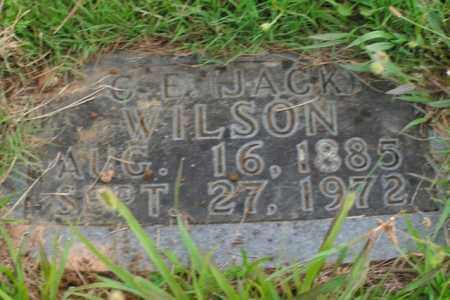 WILSON, C. E. (JACK) - Boone County, Arkansas   C. E. (JACK) WILSON - Arkansas Gravestone Photos