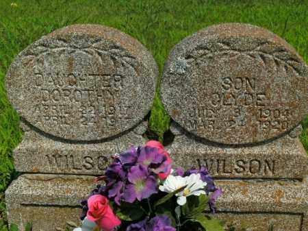 WILSON, CLYDE - Boone County, Arkansas | CLYDE WILSON - Arkansas Gravestone Photos