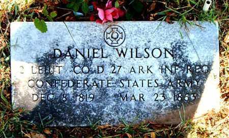 WILSON  (VETERAN CSA), DANIEL - Boone County, Arkansas | DANIEL WILSON  (VETERAN CSA) - Arkansas Gravestone Photos