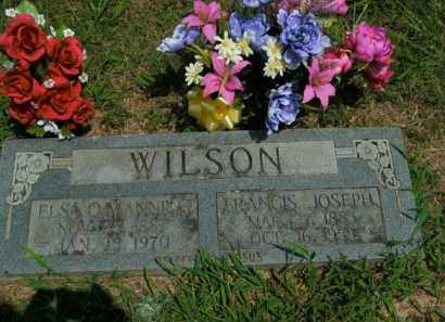 WILSON, ELSA OPAL - Boone County, Arkansas   ELSA OPAL WILSON - Arkansas Gravestone Photos