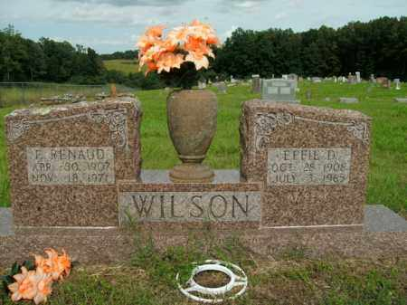 WILSON, EFFIE DELORES - Boone County, Arkansas   EFFIE DELORES WILSON - Arkansas Gravestone Photos