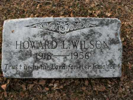 WILSON, HOWARD LEE (REVEREND) - Boone County, Arkansas | HOWARD LEE (REVEREND) WILSON - Arkansas Gravestone Photos