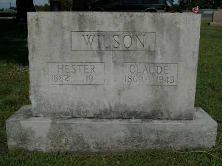 WILSON, HESTER - Boone County, Arkansas   HESTER WILSON - Arkansas Gravestone Photos