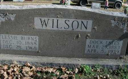 WILSON, DOCK ESTES - Boone County, Arkansas | DOCK ESTES WILSON - Arkansas Gravestone Photos