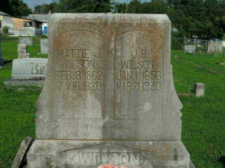 WILSON, MATTIE J. - Boone County, Arkansas | MATTIE J. WILSON - Arkansas Gravestone Photos