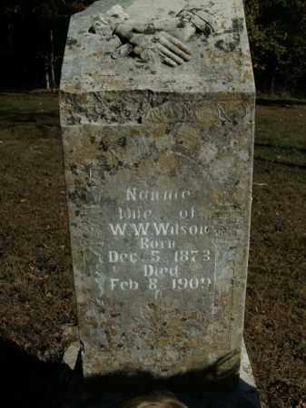 WILSON, NANNIE - Boone County, Arkansas | NANNIE WILSON - Arkansas Gravestone Photos