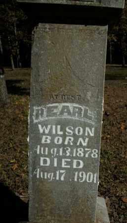 WILSON, PEARL - Boone County, Arkansas   PEARL WILSON - Arkansas Gravestone Photos