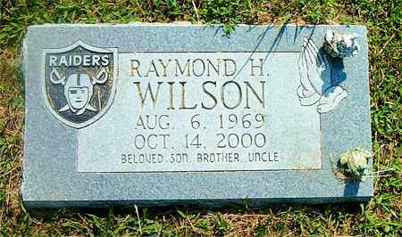 WILSON, RAYMOND  H. - Boone County, Arkansas   RAYMOND  H. WILSON - Arkansas Gravestone Photos