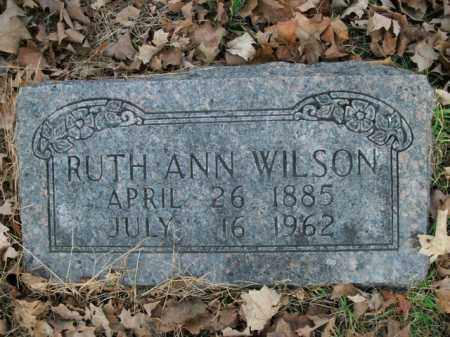 WILSON, RUTH ANN - Boone County, Arkansas | RUTH ANN WILSON - Arkansas Gravestone Photos