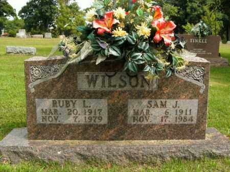 WILSON, SAM J. - Boone County, Arkansas | SAM J. WILSON - Arkansas Gravestone Photos