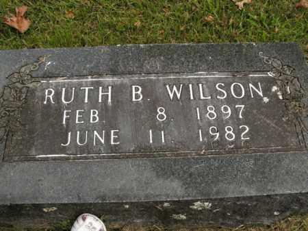 WILSON, RUTH B. - Boone County, Arkansas | RUTH B. WILSON - Arkansas Gravestone Photos