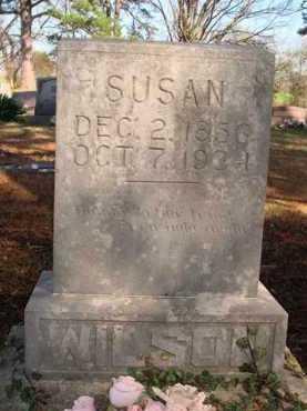 WILSON, SUSAN - Boone County, Arkansas   SUSAN WILSON - Arkansas Gravestone Photos