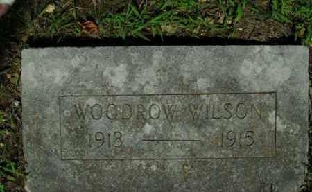 WILSON, WOODROW - Boone County, Arkansas   WOODROW WILSON - Arkansas Gravestone Photos
