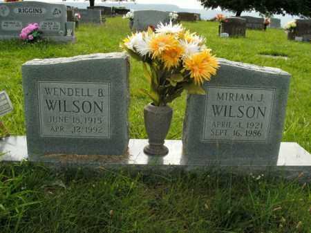 WILSON, MIRIAM J. - Boone County, Arkansas | MIRIAM J. WILSON - Arkansas Gravestone Photos