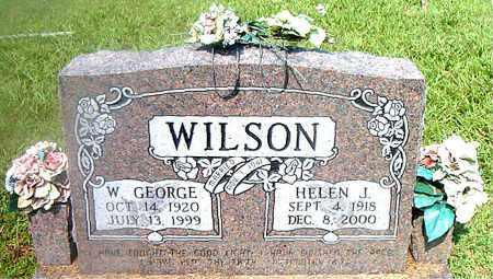 WILSON, W.  GEORGE - Boone County, Arkansas | W.  GEORGE WILSON - Arkansas Gravestone Photos