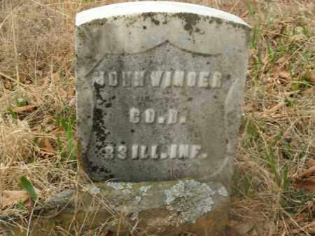 WINGER  (VETERAN UNION), JOHN - Boone County, Arkansas   JOHN WINGER  (VETERAN UNION) - Arkansas Gravestone Photos