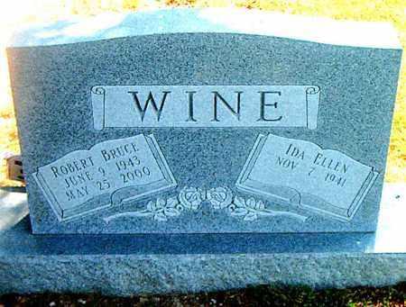 WINE, ROBERT BRUCE - Boone County, Arkansas   ROBERT BRUCE WINE - Arkansas Gravestone Photos